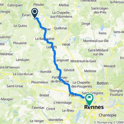 De Monchoix, Trévérien à 51 Rue de Brest, Rennes