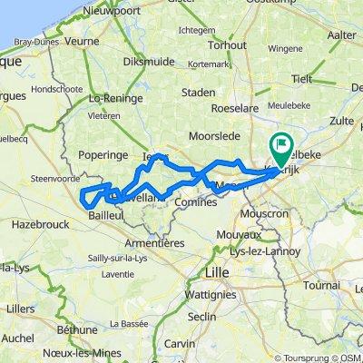 Kortrijk naar heuvelland 2