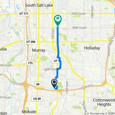 799 E Winchester St, Murray to 3853 S 900 E, Salt Lake City