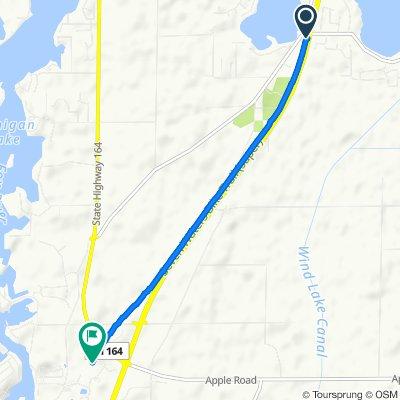 6959 S Loomis Rd, Waterford to 730 Cornerstone Crossing, Waterford