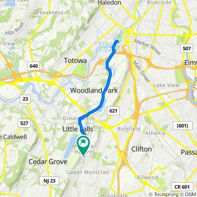 Upper Montclair to Patterson Falls