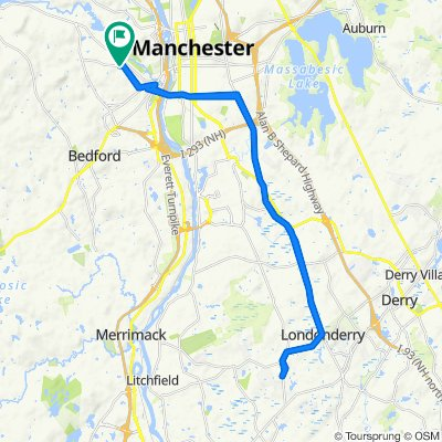 23 St Anselm Dr, Manchester to 23 St Anselm Dr, Manchester