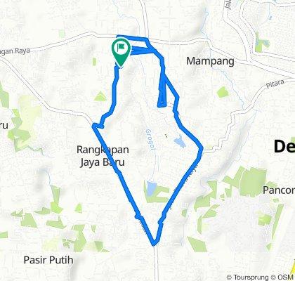 Rangkapan Jaya, Kecamatan Pancoran Mas to Rangkapan Jaya, Kecamatan Pancoran Mas