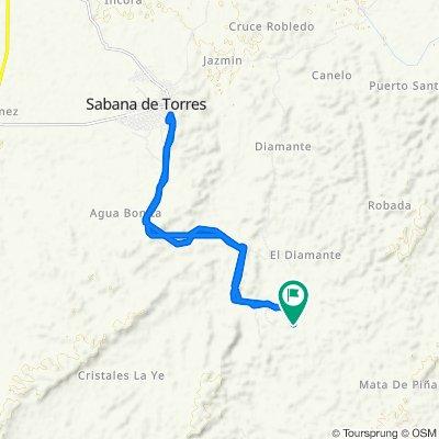 Paseo rápido en Colombia