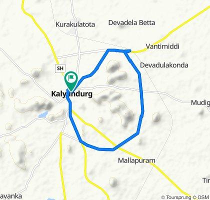 8th Day Andhra Bank, Kalyandurg to Kalyandurg