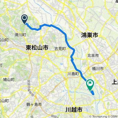 Yamata, Namegawa-Machi, Hiki-Gun to 県道339号, Kawajima-Machi, Hiki-Gun