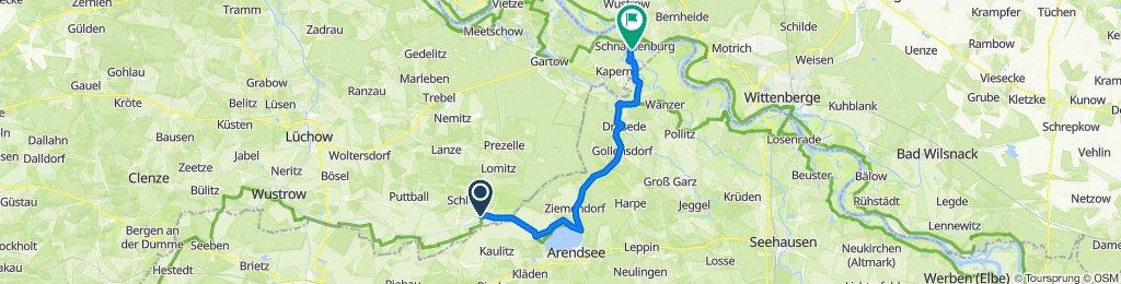 L260, Lemgow nach B493, Schnackenburg