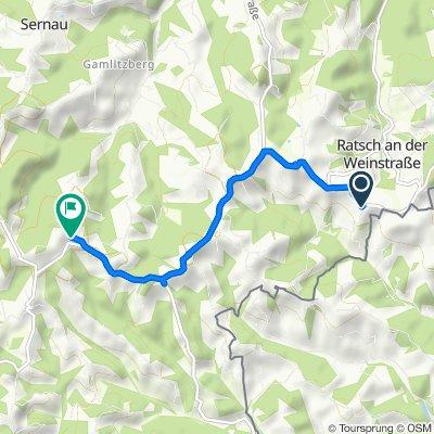 Ratsch an der Weinstraße 3, Gamlitz nach Glanz 50, Leutschach an der Weinstraße