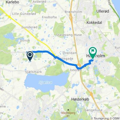 Pilekærvej 4, Hørsholm to Hørsholm Midtpunkt 37, Hørsholm