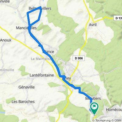 De 4 Route de Briey, Auboué à 4 Route de Briey, Auboué