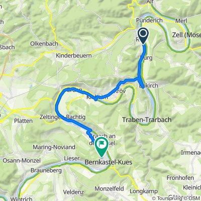 Moselstraße 5, Reil nach Bergweg 32, Bernkastel-Kues