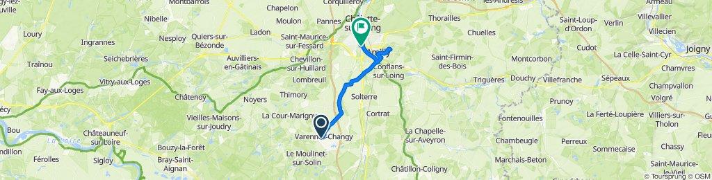 De 27 Rue du Moulinet, Varennes-Changy à 296 Rue du Christ, Amilly