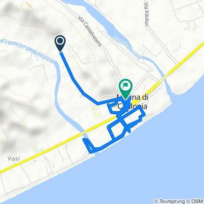 Da Via Ente Sila 42, Caulonia a Via Davide Prota, Marina di Caulonia