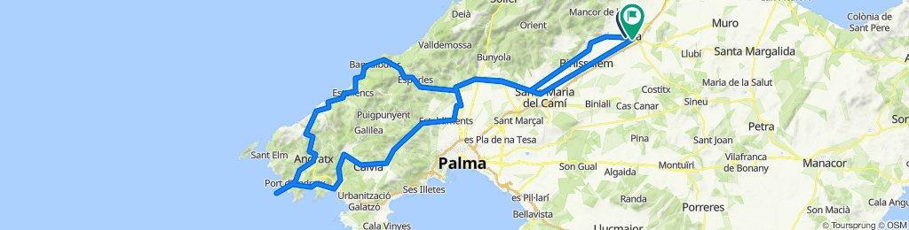 ESPORLES-BANYALBUFAR-ANDRATX-FAR DE LA MOLA-PEGUERA-ES CAPDELLA-ESTABLIMENTS-INCA