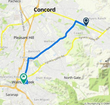 De Clayton Road 51001B, Concord a North Main Street 1442, Walnut Creek