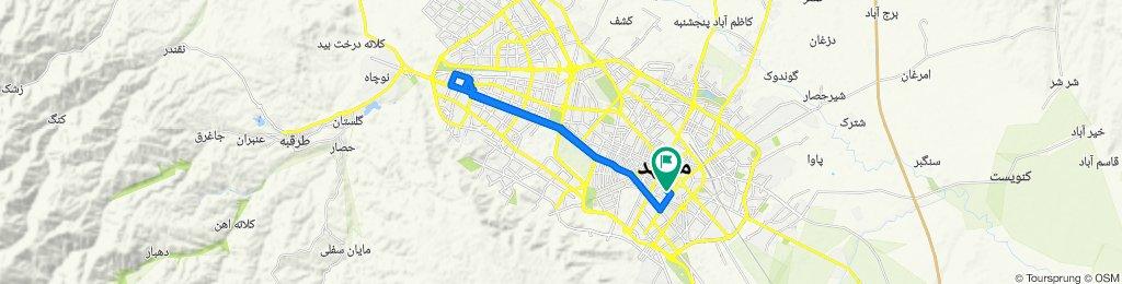 چهنو ۳, Mashhad to امام رضا ۵ - چهنو, Mashhad