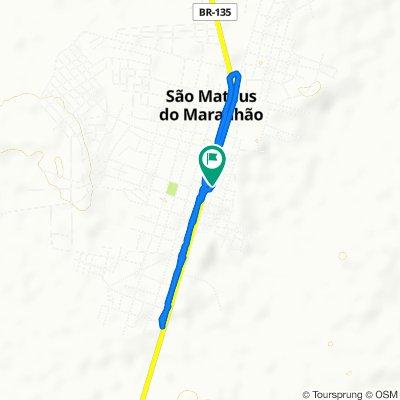 De Avenida Antonio Pereira Aragão 1238 a Avenida Rodoviária 1200