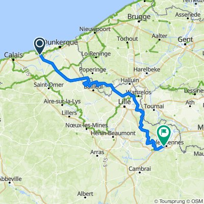 TDF ganz neu Gravelines - Valenciennes