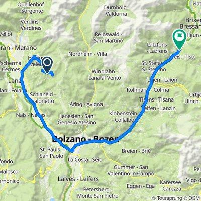 Via Aschl/Eschio 15, Verano nach Garn 25, Velturno