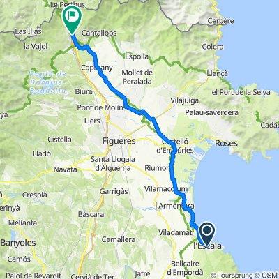 S1-Dia 2 - L'Escala - La Junquera