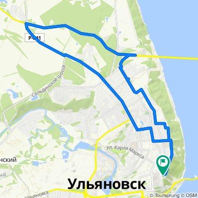 От площадь Соборная 1, Ульяновск до площадь Соборная 1, Ульяновск