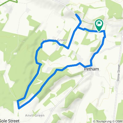 De Hops Cottage, Swarling Hill Road, Canterbury à Oast Apartment, Swarling Hill Road, Canterbury