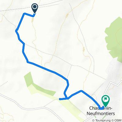 Itinéraire vers 10 Rue Saint-Barthélemy, Chauconin-Neufmontiers