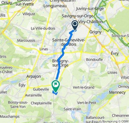 De 10ter Rue de la Commune de Paris, Morsang-sur-Orge à 39 Parc de Gaillon, Marolles-en-Hurepoix