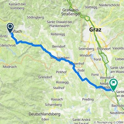 Route von Hannackstraße 291b, Maria Lankowitz