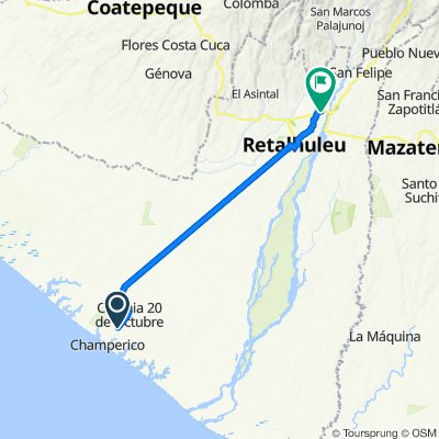 Vuelta a Guatemala inventada etapa 5 CRI Champerico San Sebastián