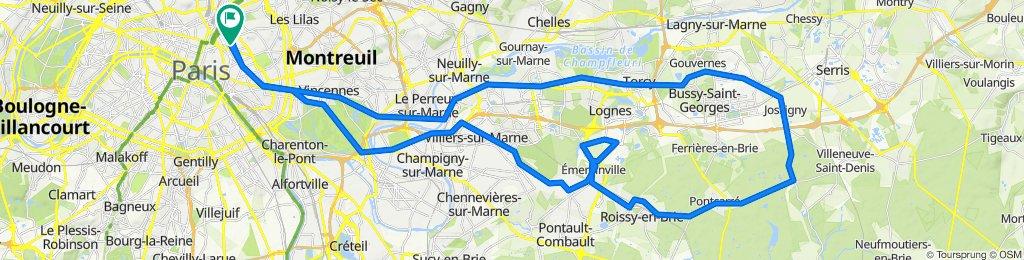 Route - RCC x STEEL : Pontcarré 70K - Est Paris