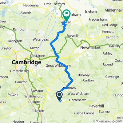 3 Joiner's Road, Cambridge to 37 Drury Lane, Ely