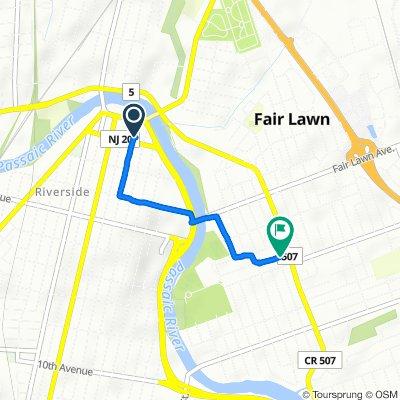 De 23 E 23rd St, Paterson à 5-18 Lyons Ave, Fair Lawn