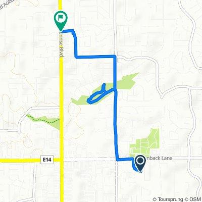 6048 Sundale Way, Fair Oaks to Sunrise Blvd, Citrus Heights