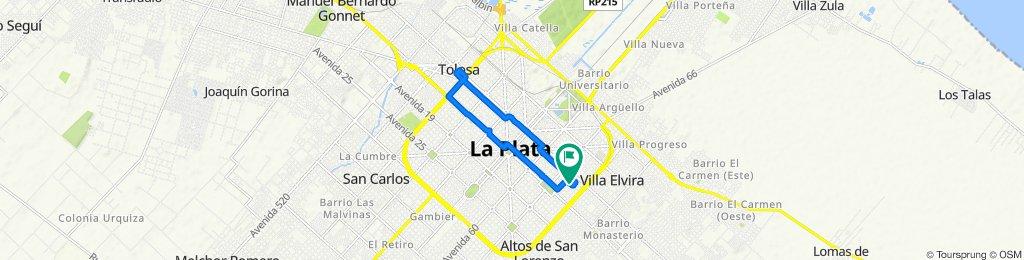 De Calle 9 1805, La Plata a Calle 9 1805, La Plata