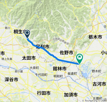 渡良瀬川自転車道