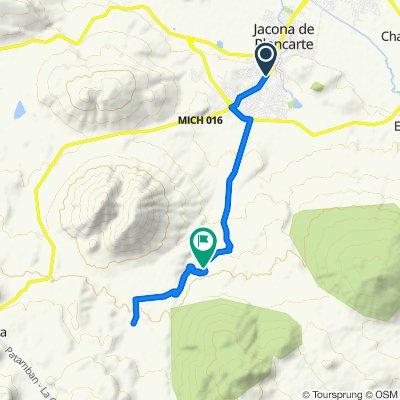 Ruta moderada en Jacona