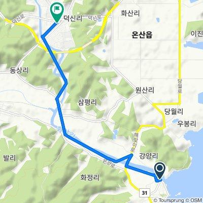 Seosaeng-myeon 332 to Onsan-eup 267-16