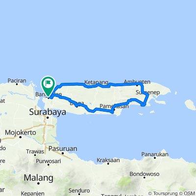 Jalan Pertempuran, Bangkalan to Jalan Pertempuran, Bangkalan
