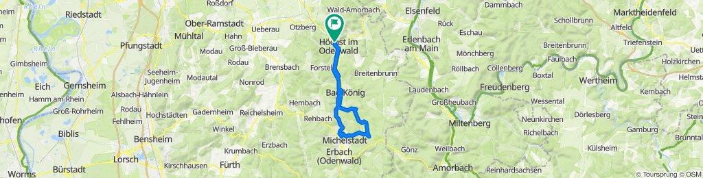 Weiten-Gesäß und Michelstadt