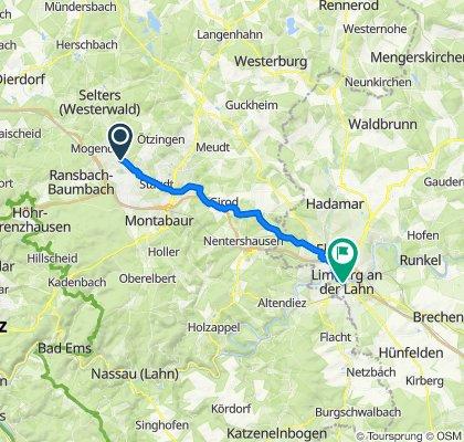 Auf der Schwarz 5, Siershahn nach Diezer Straße 21, Limburg