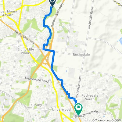 Coora Street, Wishart to Springwood Road, Rochedale South