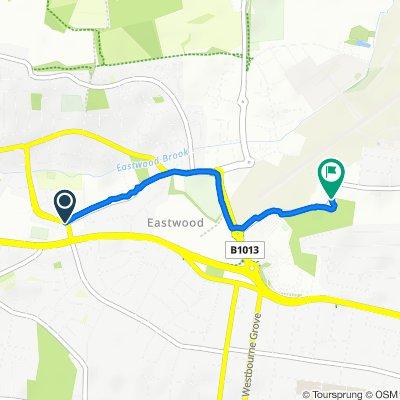 Rayleigh Road, Westcliff-on-Sea to Eastwoodbury Lane, Southend-on-Sea