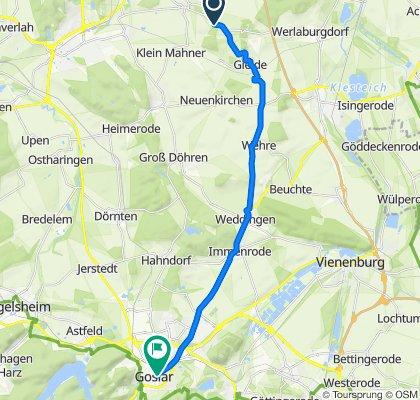 Dörpkestieg Goslar nach schlafen Grotjan