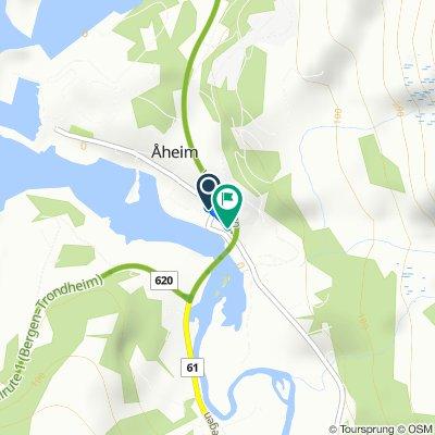 De Sekundær Fylkesveg 5 2 à Åheim