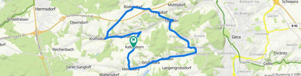 Kaltenborn 24, Kraftsdorf nach Kaltenborn 24, Kraftsdorf