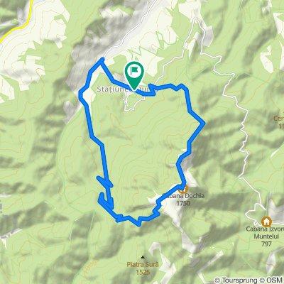Durau-BandaAlbastra-LaPalarie-Dochia-BandaRosie-Fantanele-Durau var.23km
