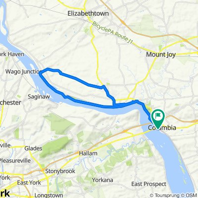 Columbia to Bainbridge to Maytown and Back