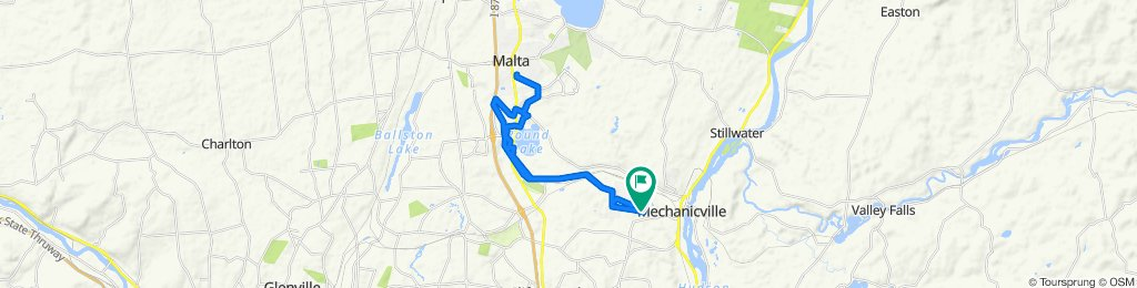 Mechanicville to Malta Brewery Ride