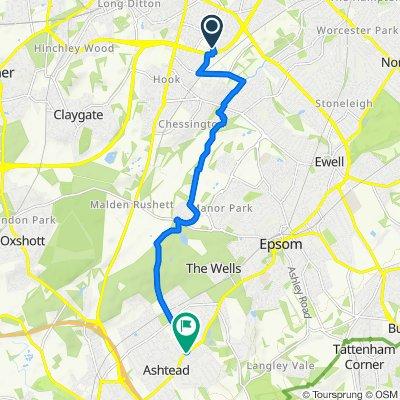 South Loop, 1, Surbiton, to Ashtead, 6.5m